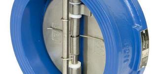 Клапан обратный двустворчатый условным диаметром 50
