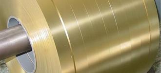Латунная мягкая холоднокатаная лента толщиной 0,05 мм и шириной 100 мм из сплава Л63
