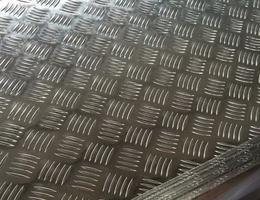 Алюминиевый лист рифленый