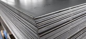 Лист стальной холоднокатаный оцинкованный толщиной 0,45 мм и размером 1250х2500 мм из стали Ст08пс
