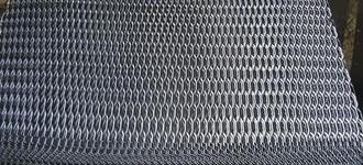 Лист стальной просечно-вытяжной номер 206 размером 1000х2000 мм из стали Ст3
