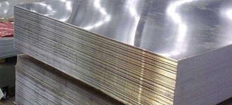 Лист стальной жаропрочный холоднокатаный толщиной 0,4 мм и размером 1000 мм из стали AISI 430 (08Х17Т) в рулоне с матовой поверхностью