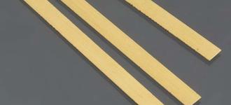 Латунная мягкая холоднокатаная полоса толщиной 3 мм и шириной 20 мм из сплава Л63
