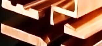 Медный профиль для коллекторов электрических машин из сплава М1