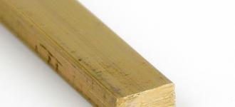 Латунный прямоугольник размером 6х10 мм из сплава ЛС59-1 длиной 3,05 м