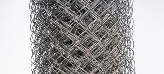 Сетка стальная плетеная размером 2х35х35