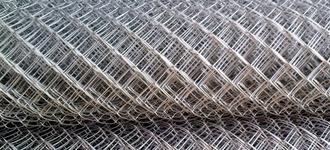 Сетка Рабица стальная размером 3х100х100 мм