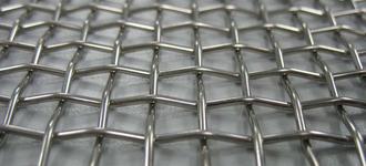 Сетка стальная рифлёная для грохотов размером 1,2х2х2 мм
