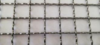 Сетка стальная сложно-рифлёная для грохотов размером 5х25х25 мм