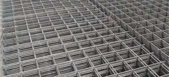 Сетка стальная сварная арматурная размером 6х100х100 из рифленой арматуры (В500С)
