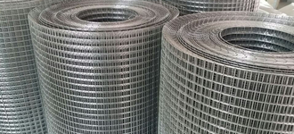 Сетка стальная сварная оцинкованная размером 0,5х6х6 мм