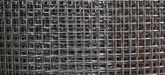 Сетка стальная тканая размером 0,4х2х2