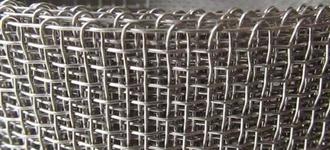 Сетка стальная тканая размером 0,8х12х12 оцинкованная