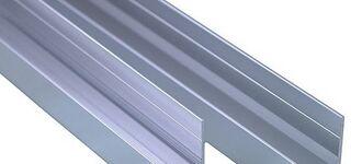 Алюминиевый неравнополочный швеллер