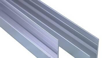 Алюминиевый швеллер 55х30 АМг5 6 м