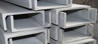 Алюминиевый равнополочный швеллер