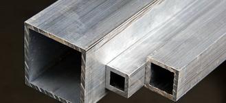 Труба алюминиевая квадратная размером 15х15 мм и толщиной 1,5 мм из сплава АД31Т1 длиной 6 м