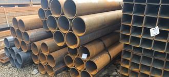 Труба стальная бесшовная горячедеформированная диаметром 108х4 мм из стали Ст10 бывшая в употреблении (б/у)