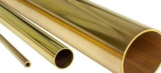 Латунная тепловая труба диаметром 5х1 мм из сплава Л63 длиной 3 м