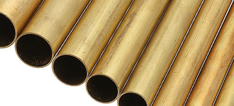 Латунная тонкостенная труба диаметром 1,50х0,15 мм из сплава Л63 длиной 2 м