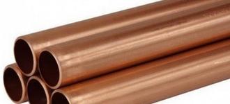 Медная мягкая холоднокатаная труба диаметром 6х1 из сплава М1 длиной 3 м