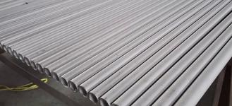 Труба стальная нержавеющая электросварная круглая диаметром 35х1,5 мм из стали AISI 304 (08Х18Н10) пищевая длиной 6 м