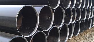 Труба стальная электросварная оцинкованная диаметром 57х3 мм из стали Ст3 длиной 7,8 м