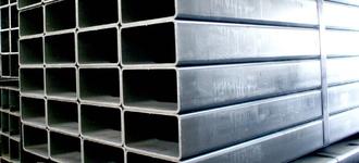 Труба стальная электросварная оцинкованная прямоугольная размером 40х20х2 мм из стали Ст3пс5 длиной 6 м