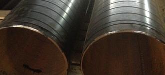 Изолированная труба в пеноплиуретановой изоляции с полиэтиленовой оболочкой с системой оперативного дистанционного контроля 108х4/180 из стали Ст3 длиной 3 м